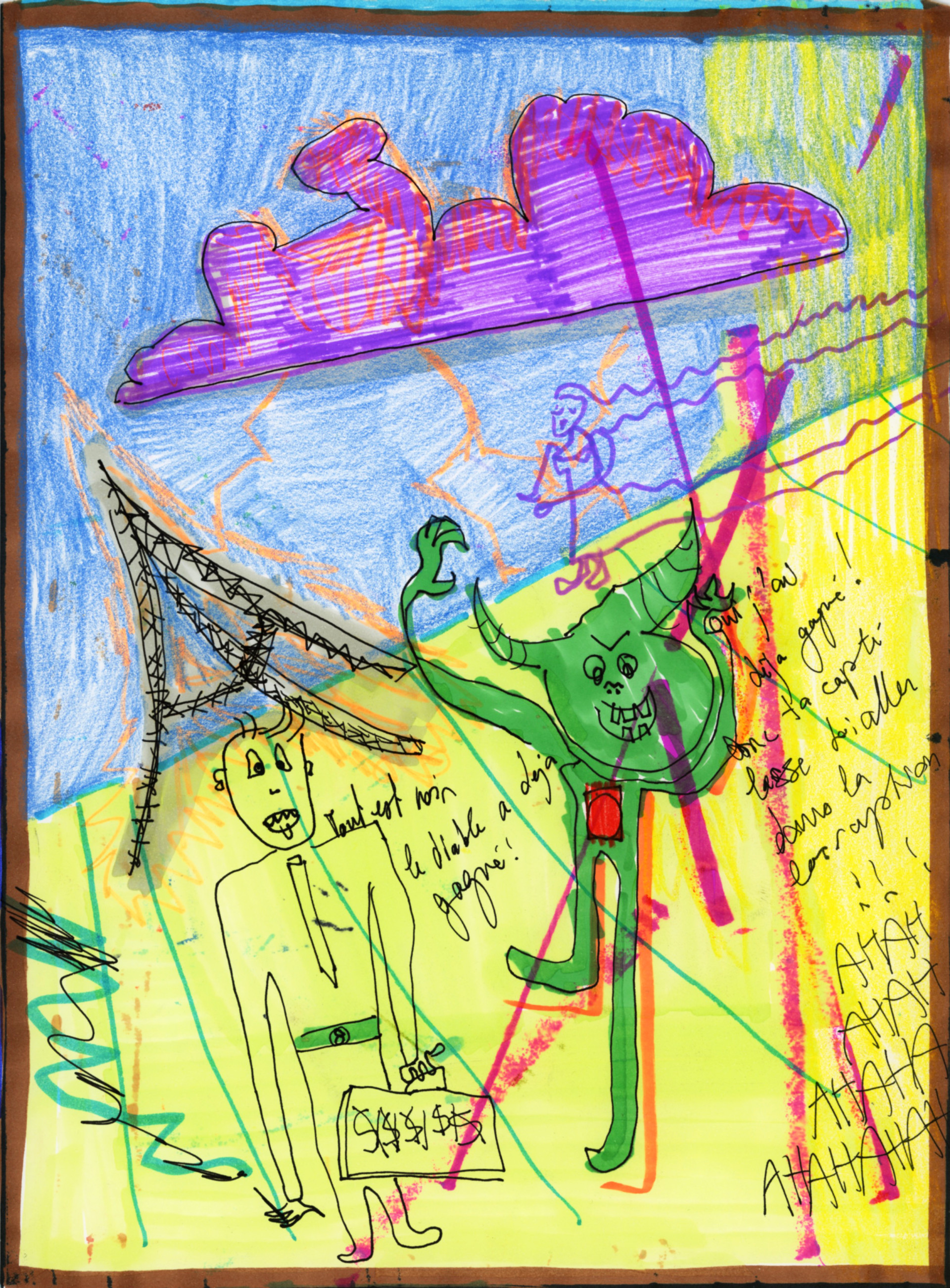Caroline Ventura Drawings